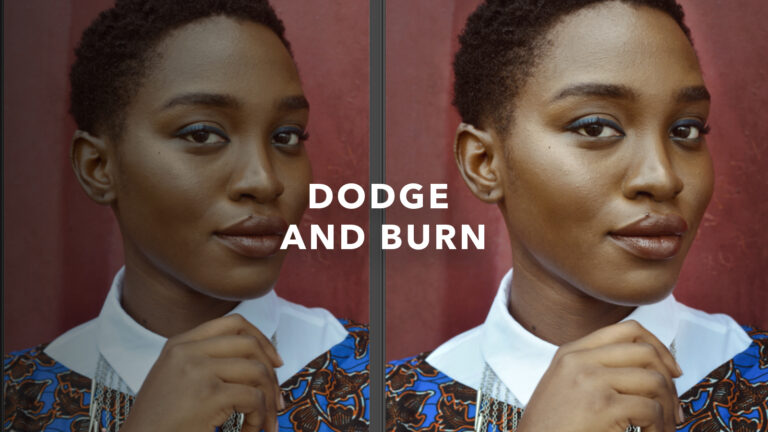 How to dodge and burn in Photoshop the RIGHT WAY