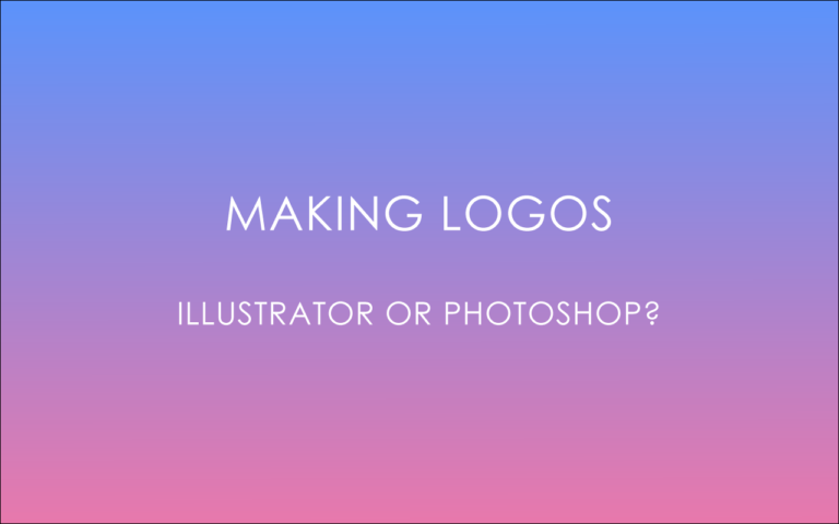 Which Is Better for Logo Design; Illustrator or Photoshop?