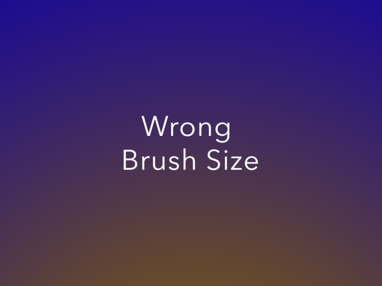 Can't See Your Brush Size in Photoshop? Here's Why