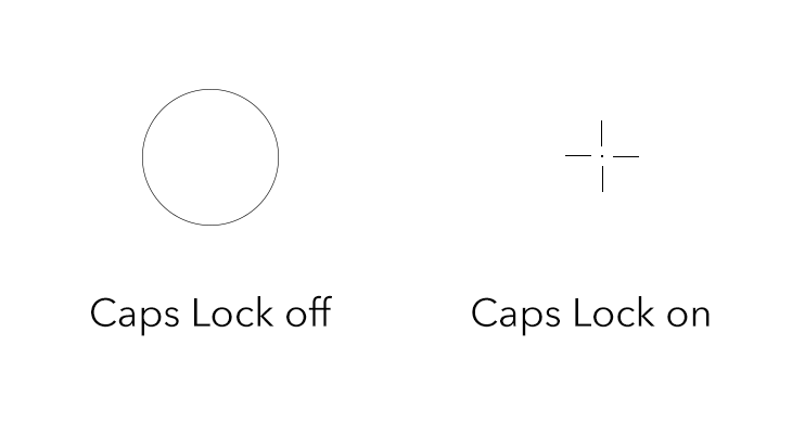turning brush size on and off with caps lock
