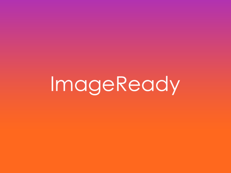 What is Adobe ImageReady?