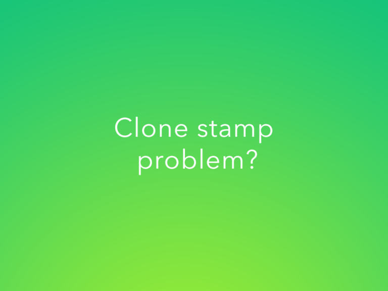 Clone Stamp Not Working in Photoshop- Quick Fix