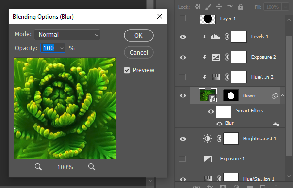 non-destructive editing with smart objects and filters