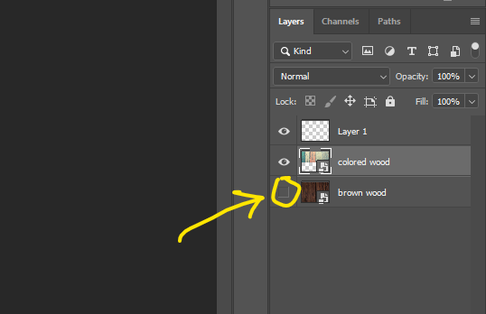 why you can't merge in photoshop. layer invisible