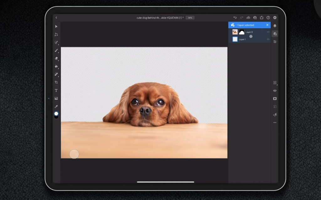 photoshop is compatible with ipad